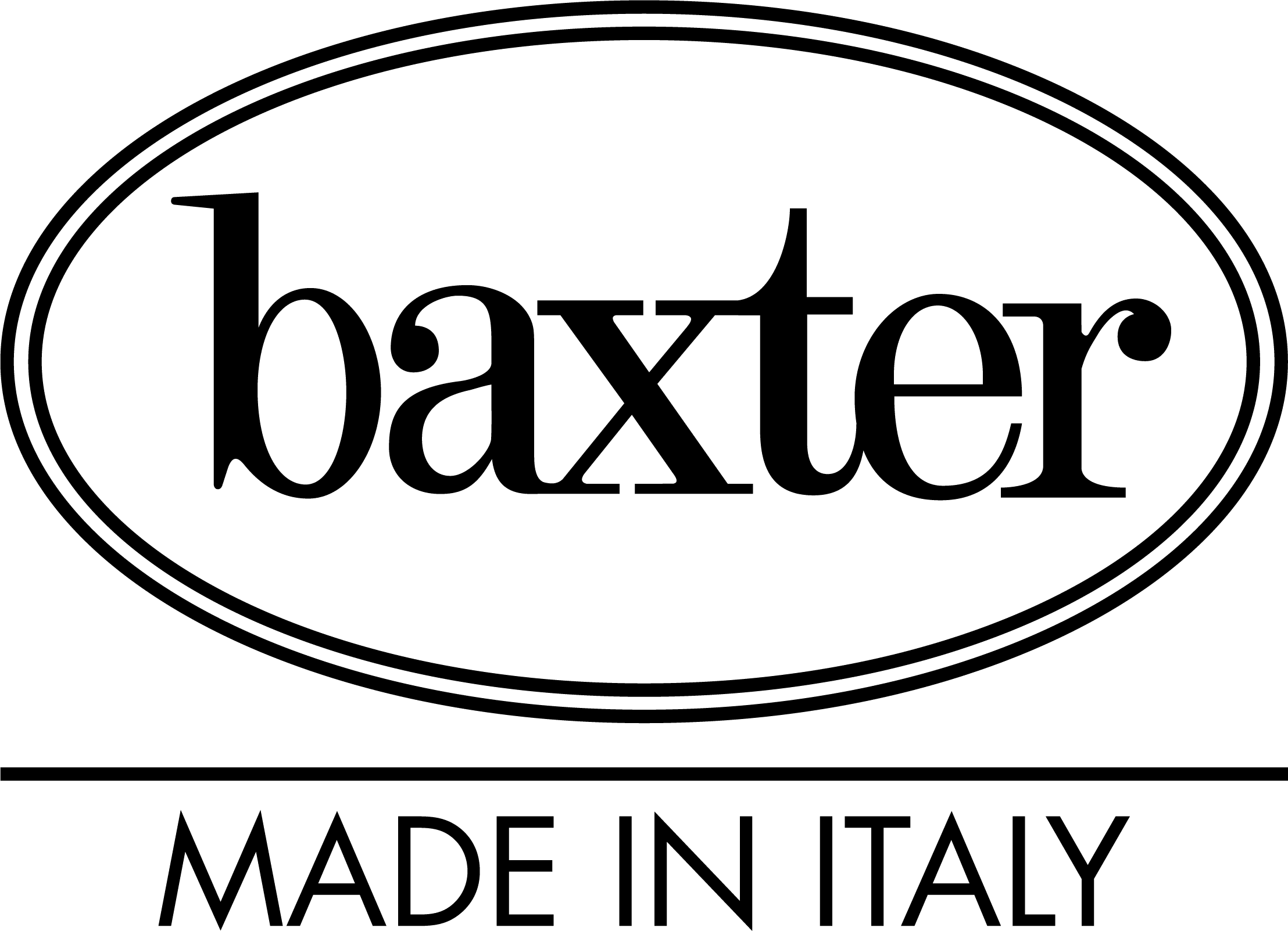 Logo Baxter made in Italy