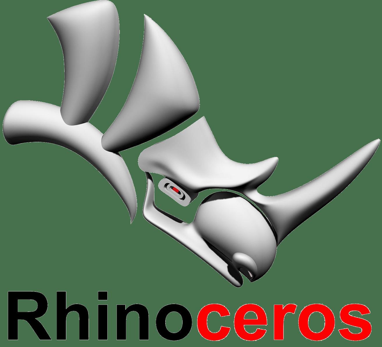 logo software rhinoceros per modellazione 3D