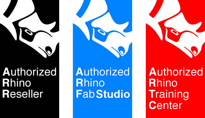 Authorized Rhino Reseller, Authorized Rhino FabStudio e Authorized Rhino Training Center