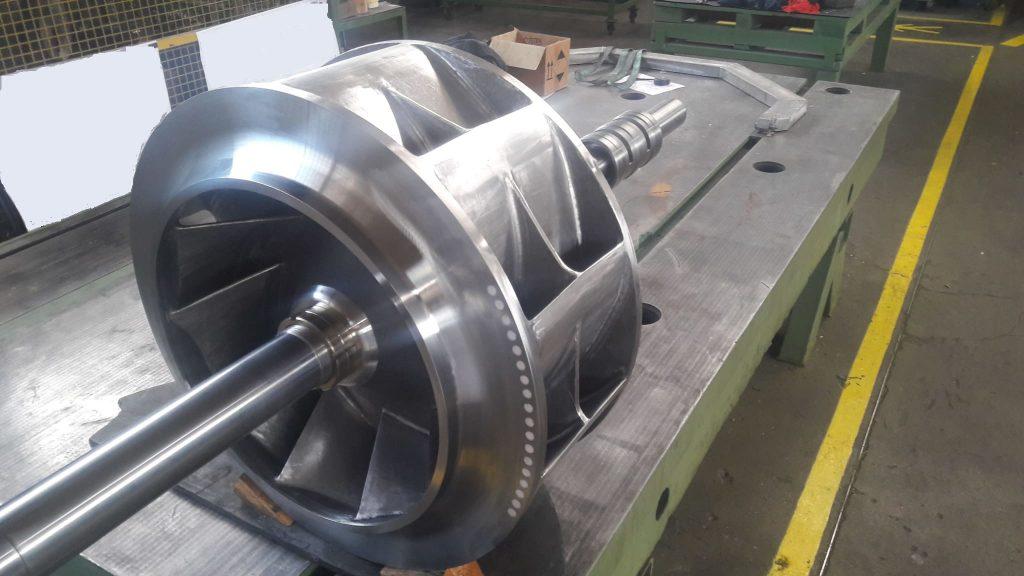 girante pompa ultimata con reverse engineering