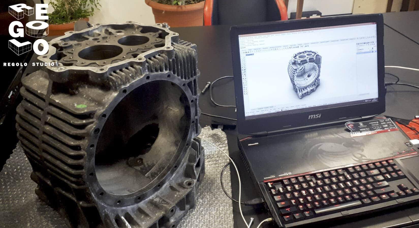 Regolo Studio Reverse Engineering di un cambio