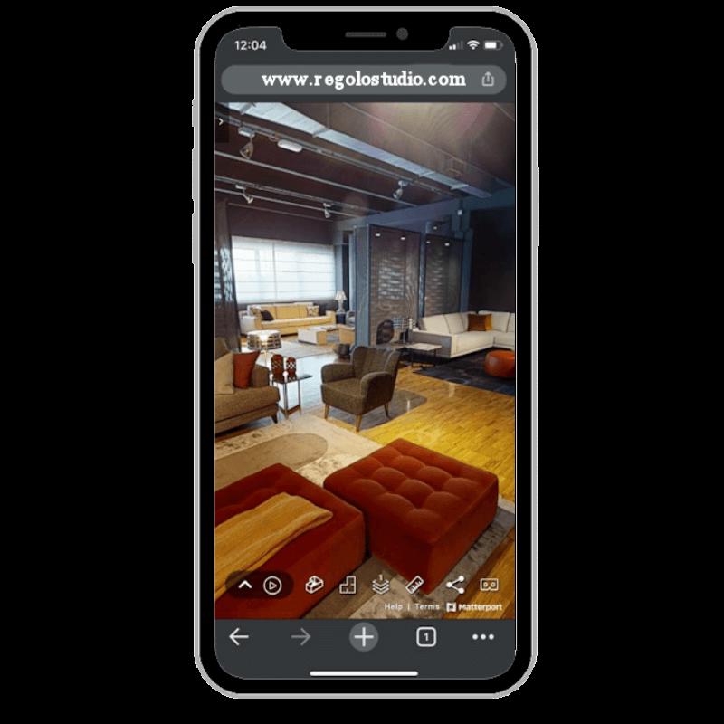 Simulazione virtuale di una casa dell'800 a Reggio Emilia