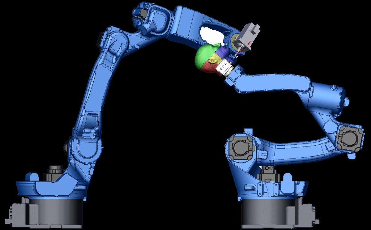 simulazione sprutcam robot